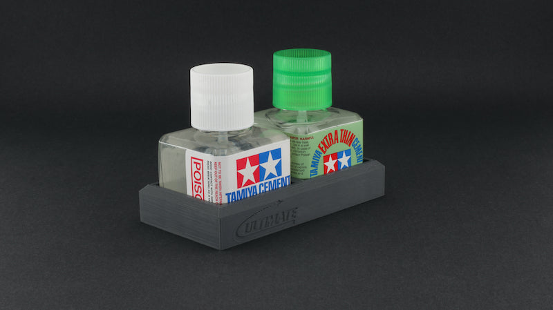 Ultimate Glue Bottle Double Holder (for Tamiya)