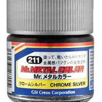 Mr. Hobby Mr Metal Color - Chrome Silver 10ml