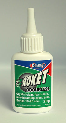 Deluxe Materials Roket Odourless CA Glue