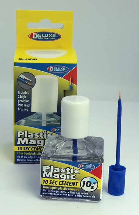 Deluxe Materials Plastic Magic 10 Second Cement