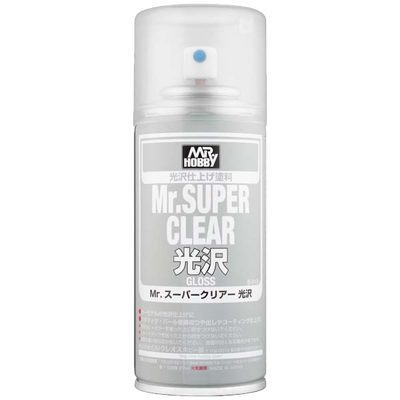 Mr. Hobby Mr Super Clear Gloss Spray - 170ml