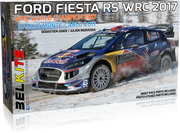 Belkits 1/24 Ford Fiesta RS WRC 2017 Red Bull #BEL012