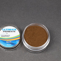 Ultimate Pigments - Half Set 1 - 5 colours (Sand, Sandy Earth, Mud, Dirt, Earth)