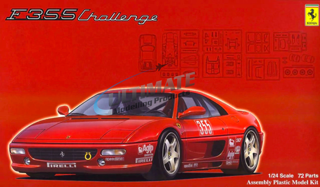 Fujimi 1/24 Ferrari F355 Challenge w/Windows #F126388