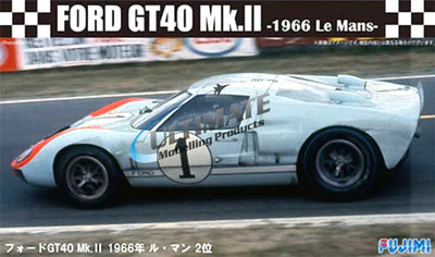 Fujimi 1/24 Ford GT40 MKII 66 Le Mans Ken Miles #F126043
