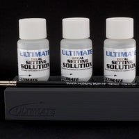 Ultimate Decal Setting Solution MEGA Bundle - Normal, Strong & Extra Strong (3 bottles) + Holder