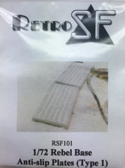 RetrokiT - 1/72 Rebel Base Anti-Slip Plates (Type 1) x 3 (Star Wars)
