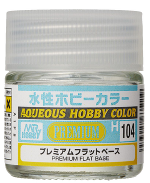 Mr. Hobby Aqueous Hobby Colour - Premium Flat Base 10ml