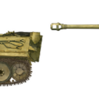 Ryefield Model 1/35 Tiger I Pz.Kpfw.VI Ausf.E Sd.Kfz. 181 Initial p Early (1943 North African Front/Tunisia) #RM-5001