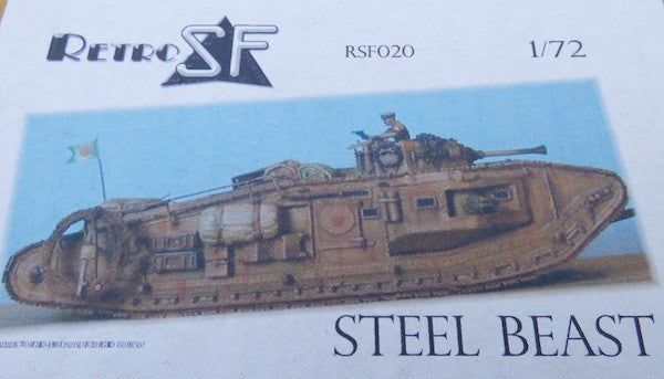 RetrokiT  - 1/72 Steel Beast (Indiana Jones & The Last Crusade)