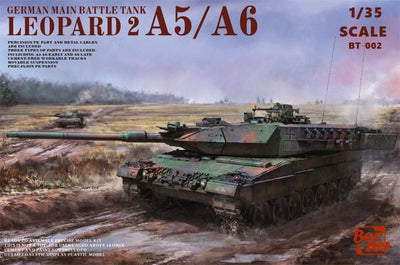 Border Models 1/35 German Main Battle Tank Leopard 2 A5/A6  #BT-002