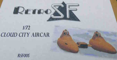 RetrokiT - 1/72 Cloud City Aircar (Star Wars)