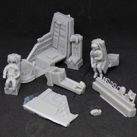 RetrokiT - UD-4L Drop Ship Cockpit Detail Set (Aliens)