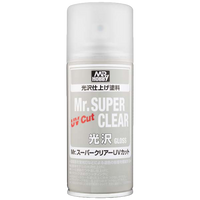 "Mr. Hobby Mr Super ""UV Cut"" Gloss Spray - 170ml"