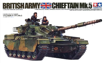 Tamiya 1/35 British Chieftain Mk.5 Tank #35068