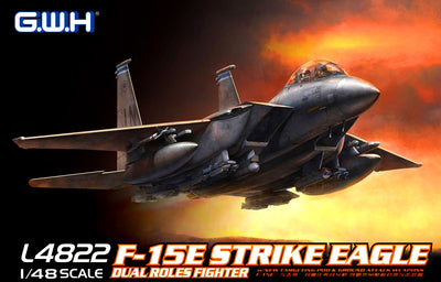Great Wall Hobby 1/48 F-15E Strike Eagle Dual-Role Fighter #L4822