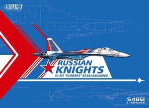 "Great Wall Hobby 1/48 SU-35S Flanker E ""Russian Knights"" #S4812"
