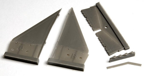 Canards with Lowered Flaps for SAAB 37 Viggen (TAR/SH)