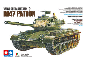 Tamiya 1/35 West German Tank M47 Patten (New & retooled parts for 2020) #37028