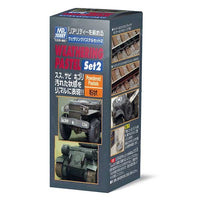 Mr. Hobby Weathering Pastel Set 2