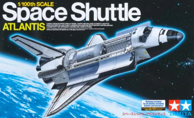 Tamiya 1/100 Space Shuttle Atlantis #60402