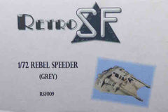 RetrokiT - 1/72 Rebel Snow Speeder - Grey (Star Wars)