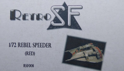 RetrokiT - 1/72 Rebel Snow Speeder - Red (Star Wars)