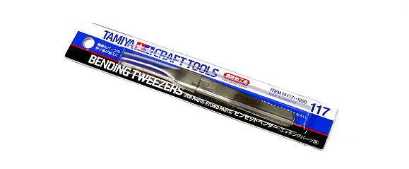 Tamiya Bending Tweezers for Photo Etched Parts