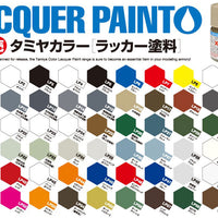 Tamiya 10ml Lacquer Paint LP-65 Rubber Black