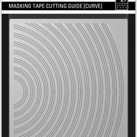 Three Sheeps Design Masking Tape Cutting Guide MEGA Set - Includes all sizes (N, C, S, CS))