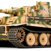 Tamiya 1/48 German Tiger I Early Production #32504