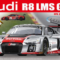 NUNU 1/24 Audi R8 2015 SPA 24H (2 in 1) DETAIL UP SET #NU-E24004