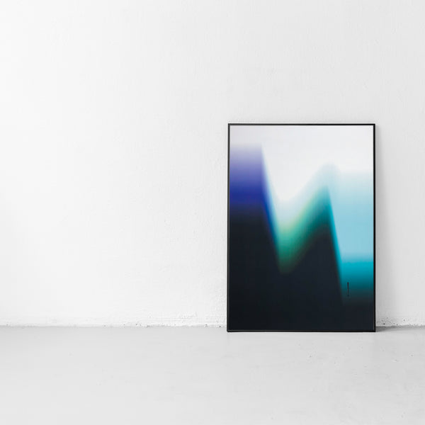 bang design poster smoke lake gradient