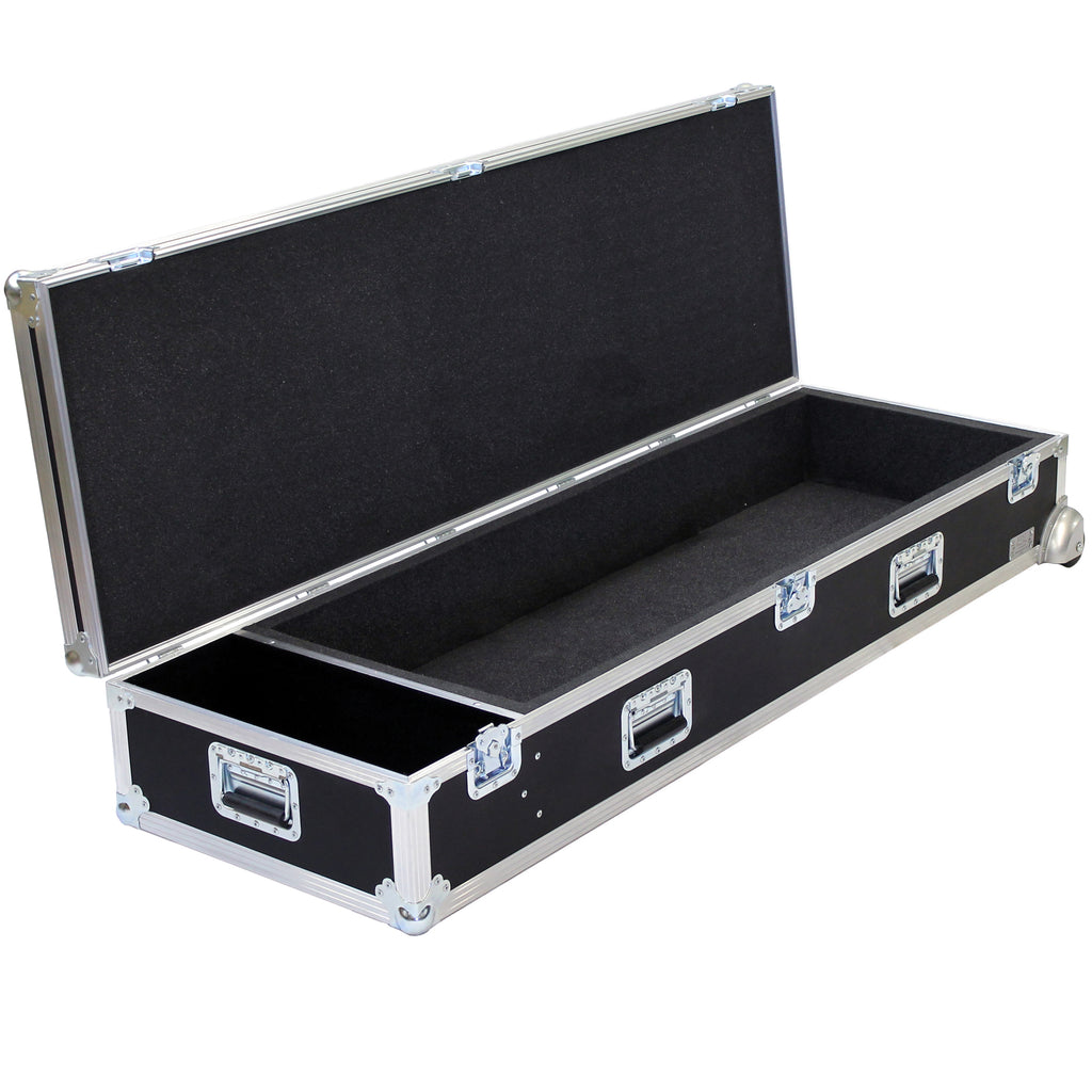 Trunk Projection Case With Corner Casters And Utility Slot
