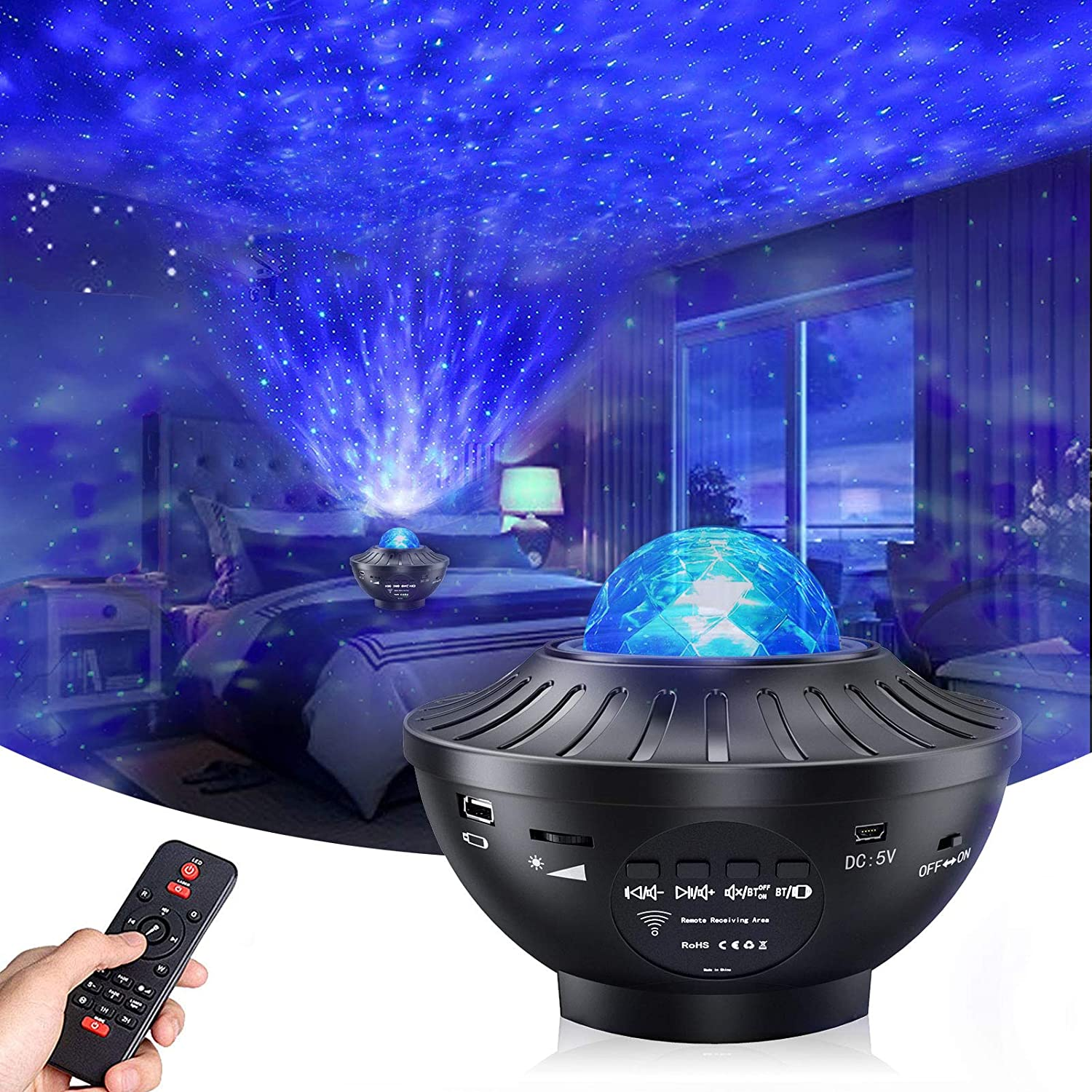 Sassy Night Light Star Projector
