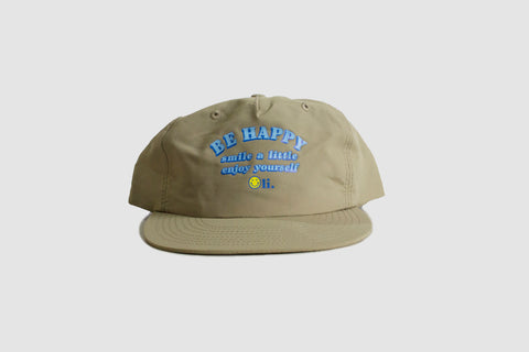 Be Happy Nylon Cap - Sand - Oli.