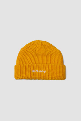 Knit Beanie - Sunflower