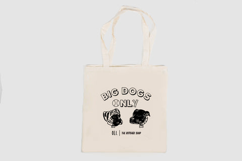 Big Dogs Only Tote Bag - Oli.