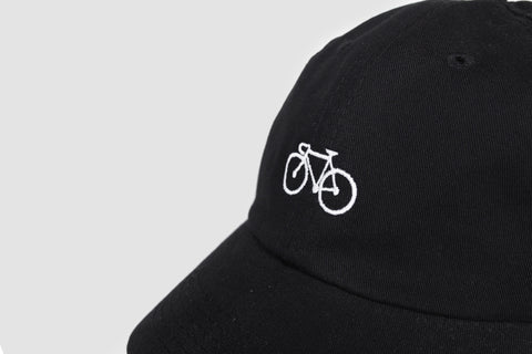 Bike Cap - Black - Oli.
