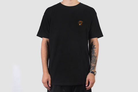 Embroidered Bruce T - Black