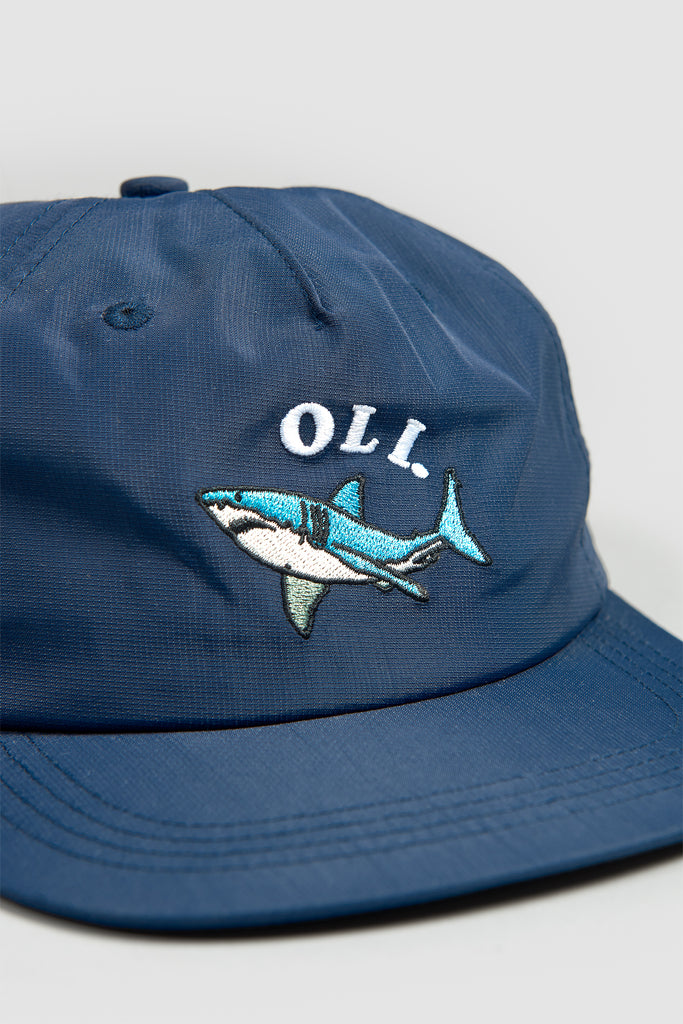 Nylon Shark Cap - Navy