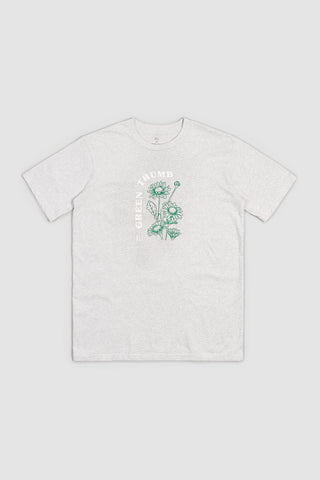 Green Thumb T - Athletic Grey