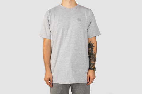 Embroidered Standard T - Grey