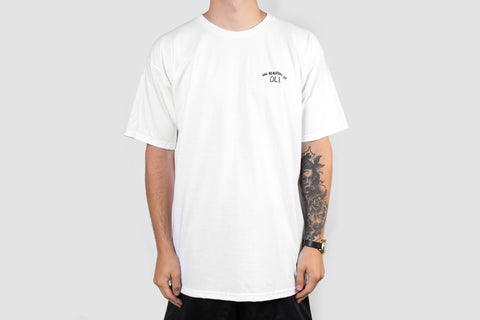 Beaufort Back Print - White