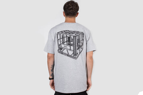 Milk Crate T - Grey