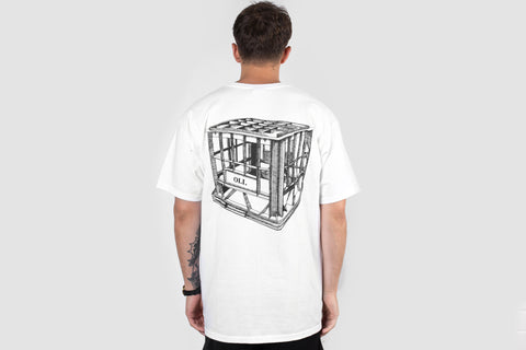 Milk Crate T - White