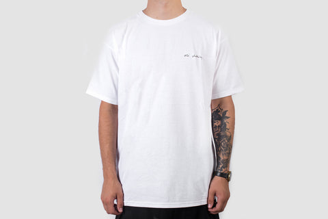 Scribble Logo - White