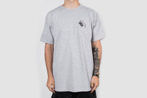 Oli-e Back Print - Grey