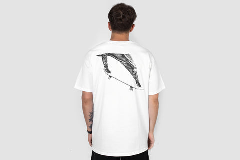Oli-e Back Print - White