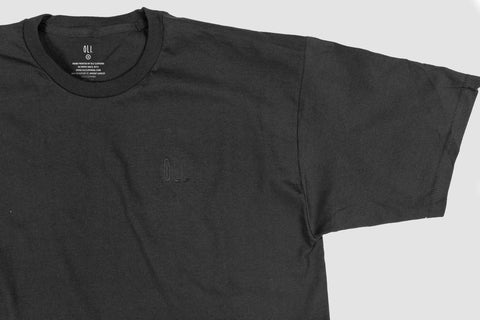 Embroidered Standard T - Black